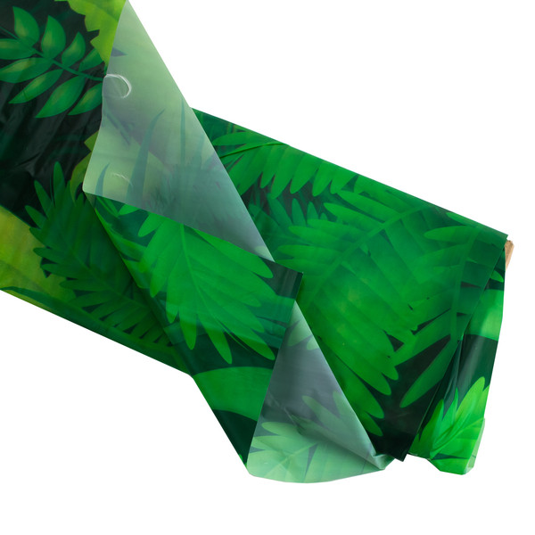 Jungle Foliage Plastic Backdrop Vbs