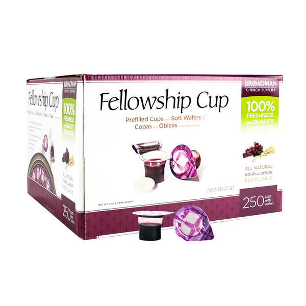 Fellowship Cup Prefilled Communion Cup 250 Concordia