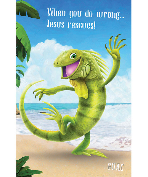 Bible Point Posters Set Of 6 Shipwrecked Vbs