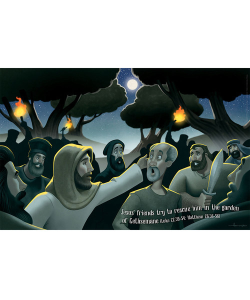 Bible Story Posters Set Of 5 Shipwrecked Vbs