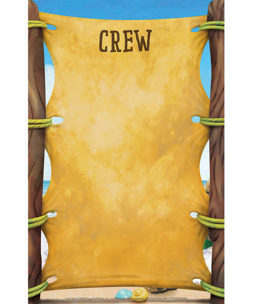 Crew Signs Set Of 10 Shipwrecked Vbs