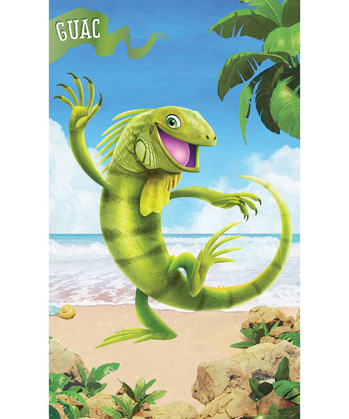 Giant Bible Memory Buddy Posters Set Of 6 Shipwrecked Vbs