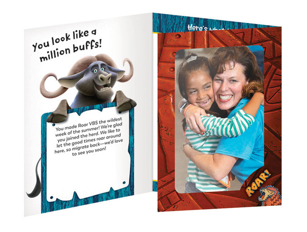 Follow Up Foto Frames Pack Of 10 Roar Vbs By Group