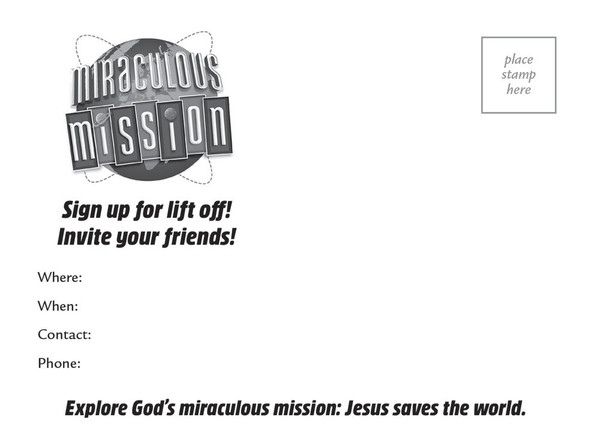 Postcards Miraculous Mission Vbs By Cph