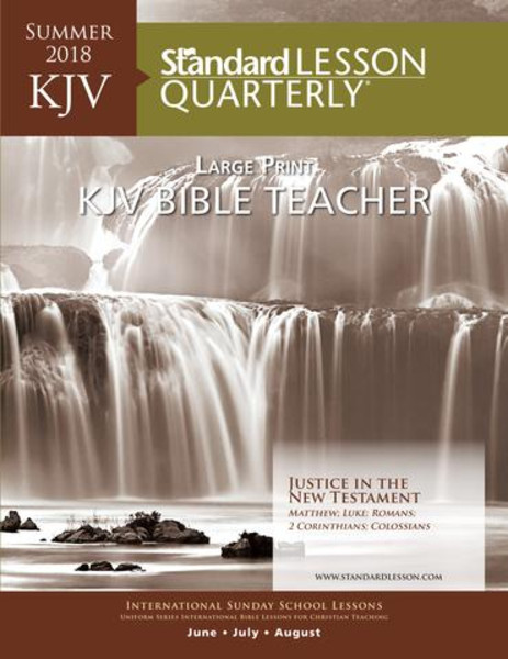 Standard Lesson Quarterly | Youth Bible Study Lessons