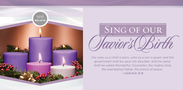 offering envelope advent sing pack of 100. Black Bedroom Furniture Sets. Home Design Ideas