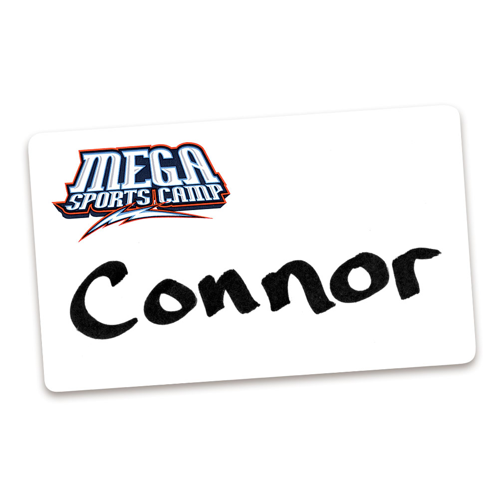 MEGA Sports Camp Name Tags (80)