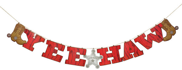 Yee Haw Garland 8 Quot X 7 Vbs Decor