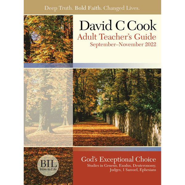 Adult Teacher's Guide - Bible-in-Life Fall 2019