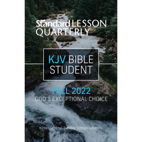 Standard Lesson Quarterly   Youth Bible Study Lessons
