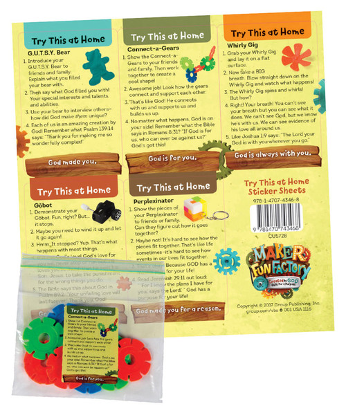 try this at home sticker sheets pkg of 10 sheets maker fun factory