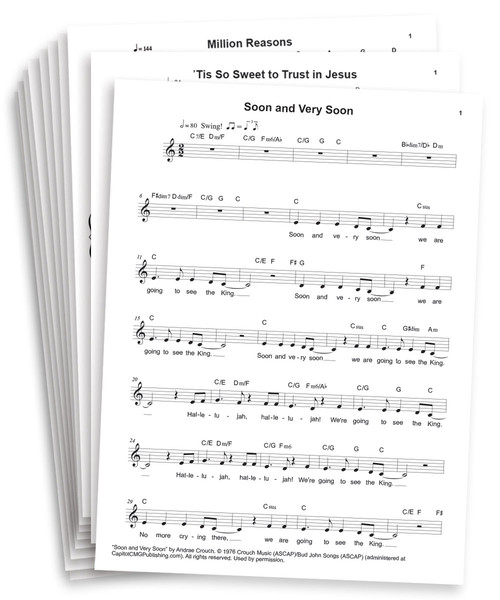 Castaway Sing Play Vocal Lead Sheets With Chords Download