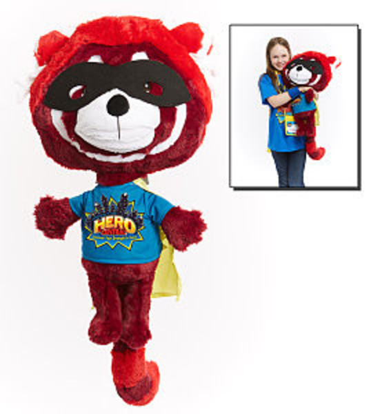 Flame The Red Panda Puppet Hero Central Vbs