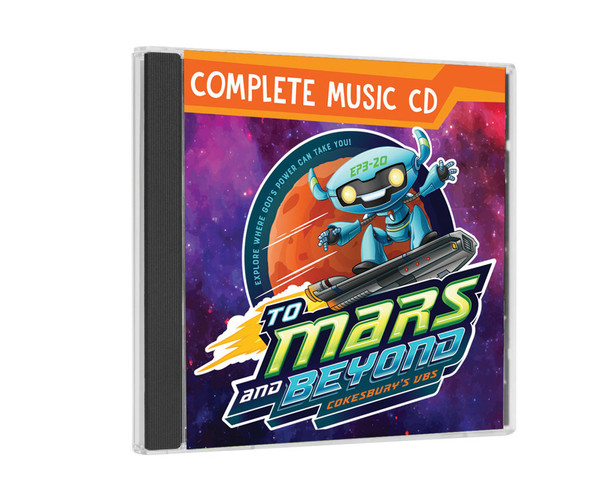 Complete Music CD - To Mars and Beyond VBS by Cokesbury