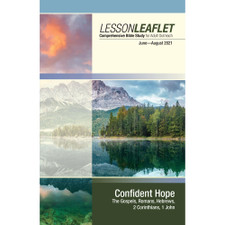 Adult Lesson Leaflet (Visitor's Lessons) - Bible-in-Life Winter 2018-19