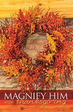 Church Bulletin 11 Fall Thanksgiving Grace Is Sufficient Pack Of 100