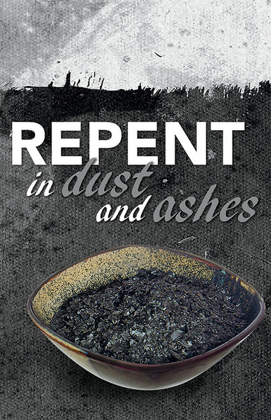 Church Bulletin 11 Quot Ash Wednesday Repent Pack Of 50