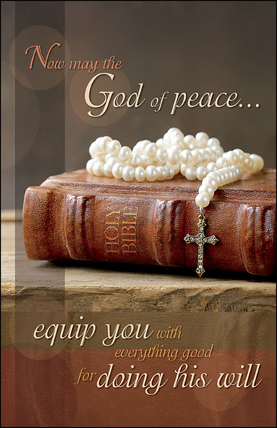 Church Bulletin 11 Quot Mothers Day God Of Peace Pack Of 50