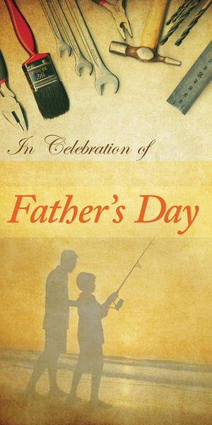 Church Banner - Father's Day - A Celebration Of Father's Day