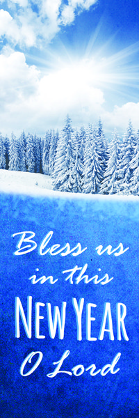 New Year Banners for Church | Religious Banners