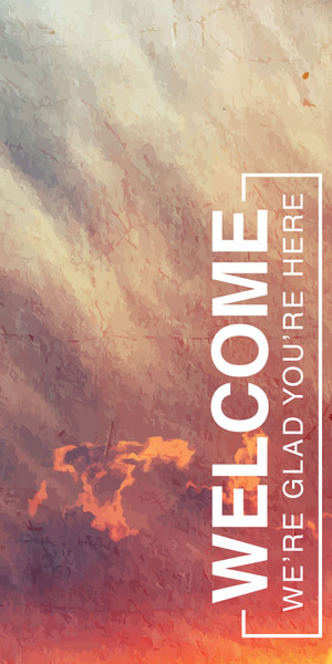 Church Banner - Welcome - Welcome