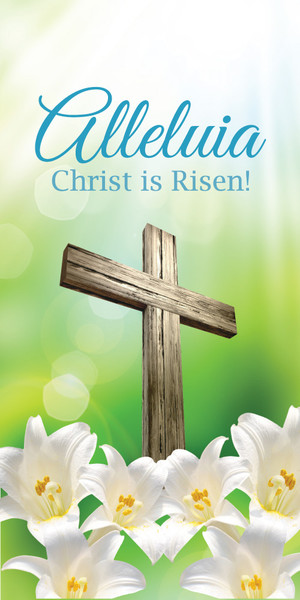 Church Banner Easter Alleluia