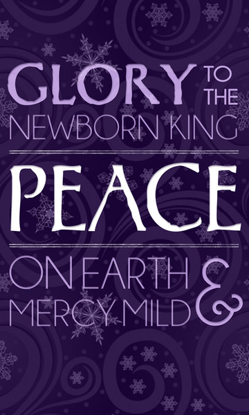 Church Banner Christmas Advent Peace