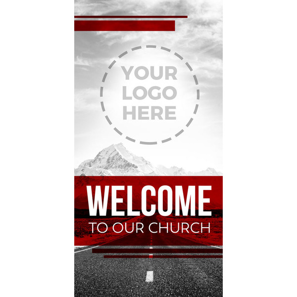 Church Banner Welcome Welcome Worship