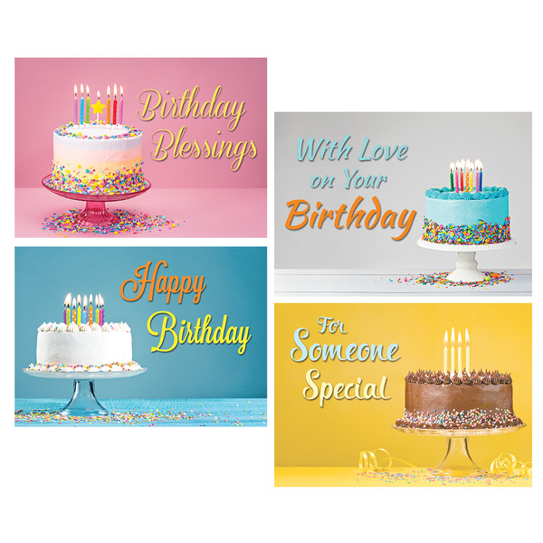 You take the cake boxed cards birthday pack of 12 boxed cards birthday pack of 12 bookmarktalkfo Choice Image