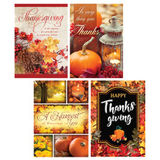 a harvest of thanks boxed cards thanksgiving pack of 12