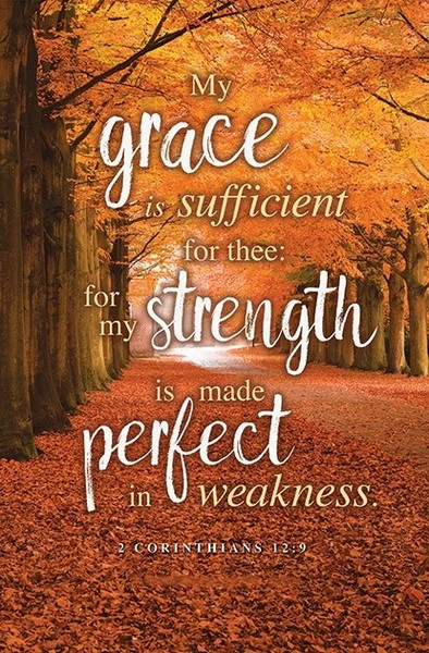 church bulletin 11quot fall thanksgiving grace is