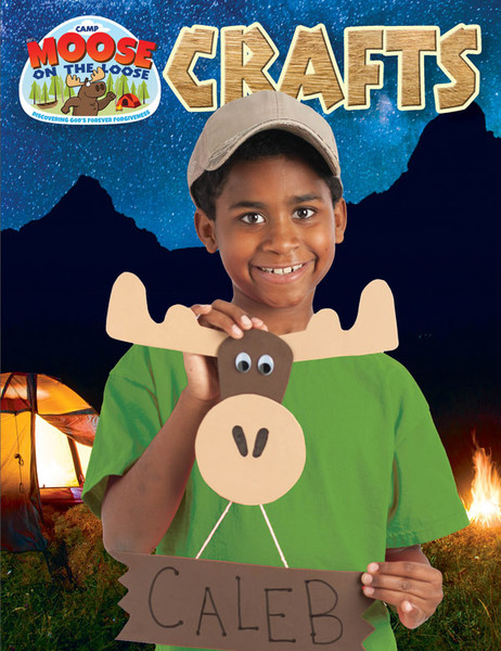 Craft Ideas Book Camp Moose On The Loose Vbs