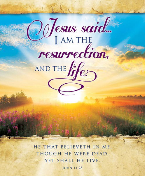 Church Bulletin 14 Quot Easter Resurrection And The Life