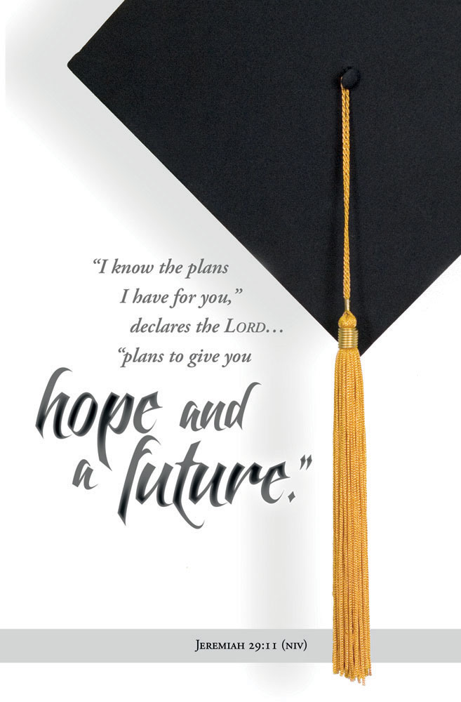 KJV - Graduation Bulletin Package of 100 The LORD Shall Guide Thee
