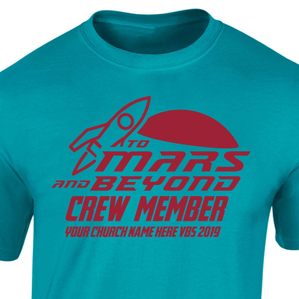 VBS Custom T-Shirt - To Mars and Beyond VBS