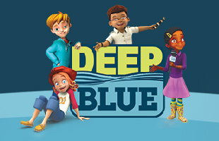 Image result for deep blue images sunday school