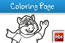 PDF Orville Coloring Page