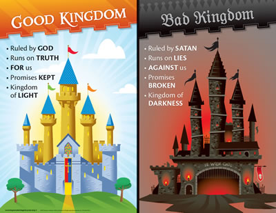 Two Kingdoms: God's Good Kingdom and the Bad Kingdom