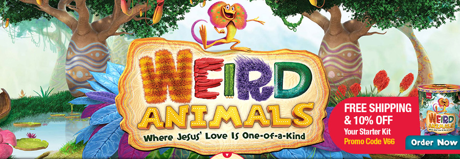 Weird Animals VBS - Group VBS 2014 Theme