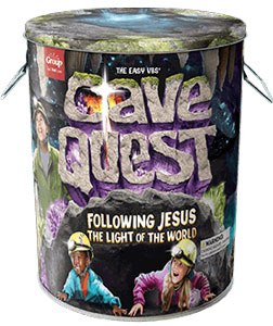 VBS 2016 Starter Kit Cave Quest