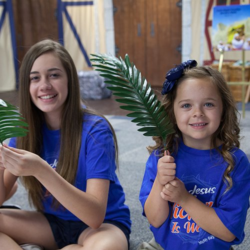 mighty fortress vbs 2018 girls