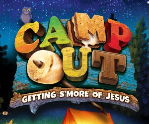 Camp Out Weekend VBS 2017 Group