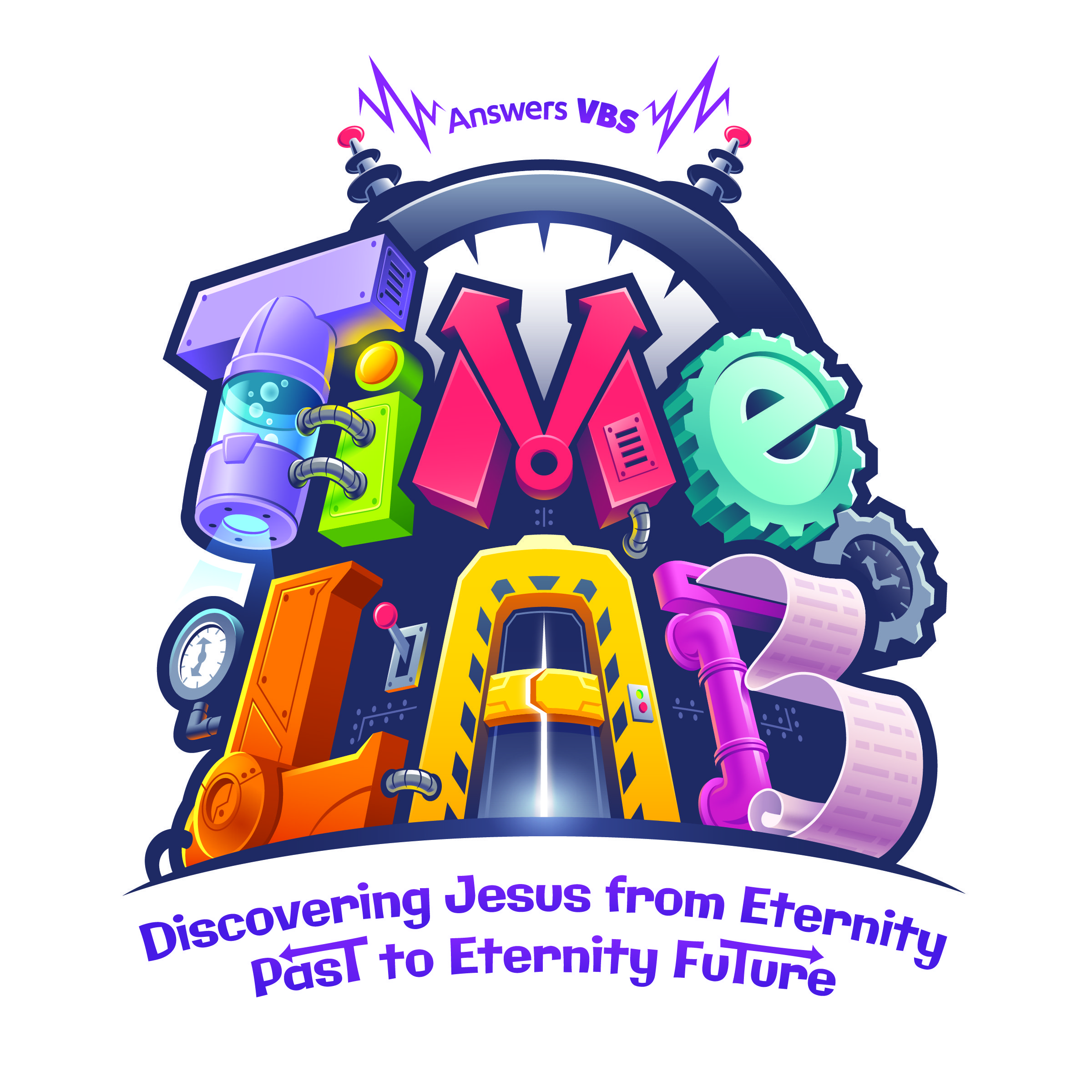 Image result for time lab vbs