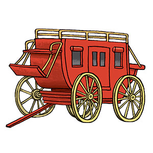 GiddyUp Junction Stagecoach