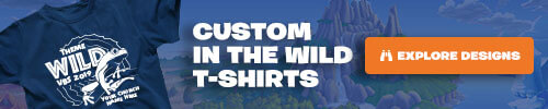 In The Wild Custom T-Shirts