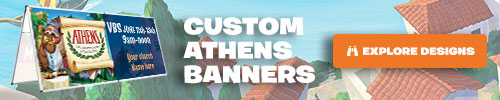 Athens Custom Banners