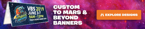 To Mars and Beyond Custom Banners