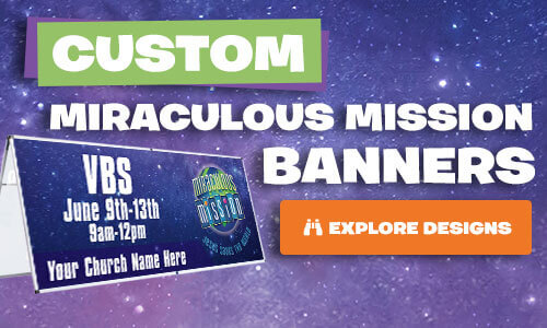 Miraculous Mission Custom Banners