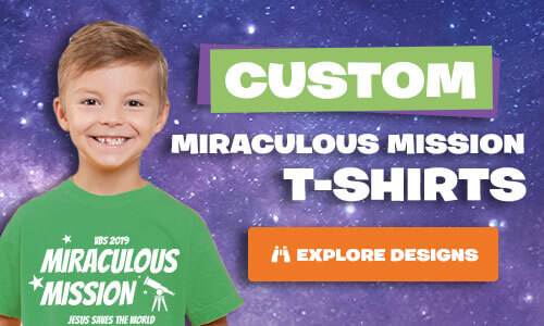Miraculous Mission Custom T-Shirts