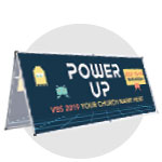 Power Up Custom Banners